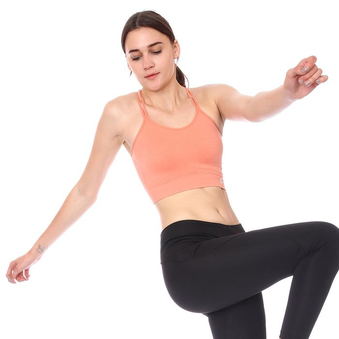 Spo-Seanewmidi Bra Kadın Pembe Günlük Stil Sporcu Sütyeni 712101-PMB 1280692