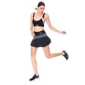 W Nkct Df Advtg Skirt Hybrid Kadın Siyah Tenis Etek CV4707-010