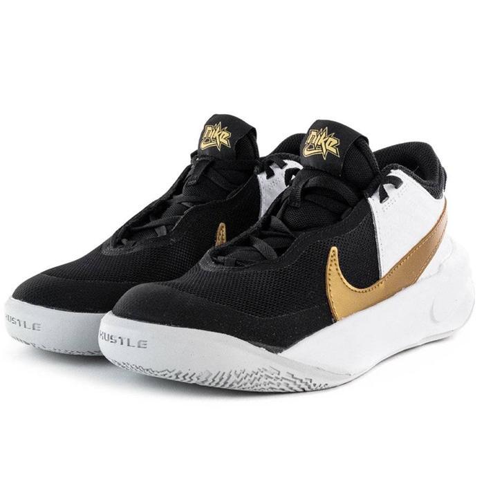 Team Hustle D 10 (Gs) Çocuk Siyah Basketbol Ayakkabısı CW6735-002 1285654