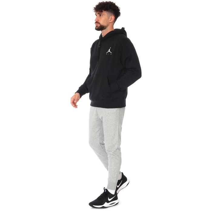 Jordan NBA Jumpman Air Flc Po Erkek Siyah Basketbol Sweatshirt CK6684-010 1233558