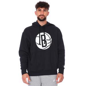 Brooklyn Nets NBA Erkek Siyah Basketbol Sweatshirt CN1187 010