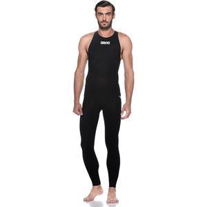 Man Full Leg Suit VII Powerskin Erkek Siyah Yüzücü Yarış Mayosu 2512450