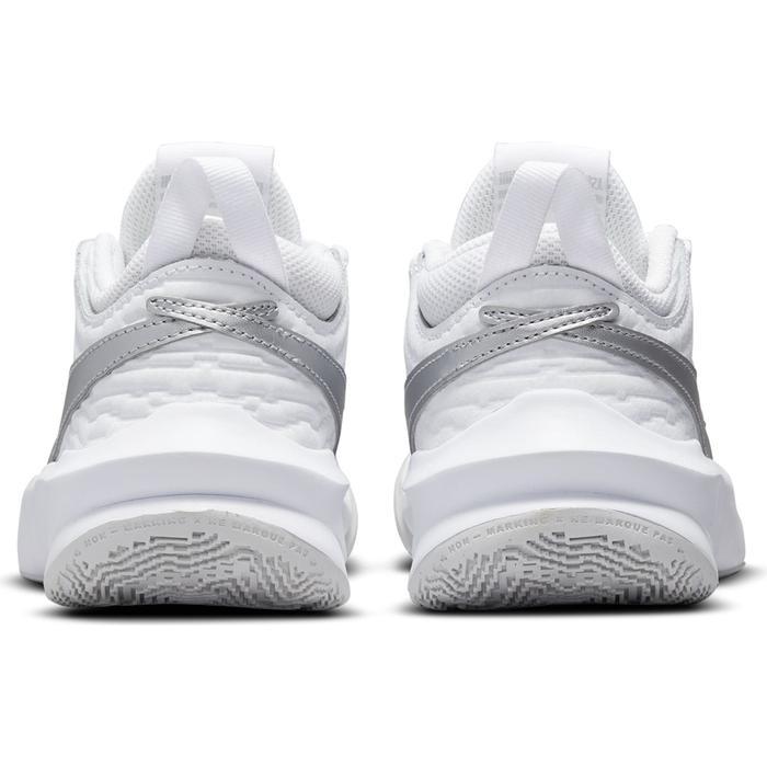 Team Hustle D 10 (Gs) Unisex Beyaz Basketbol Ayakkabısı CW6735-100 1285656