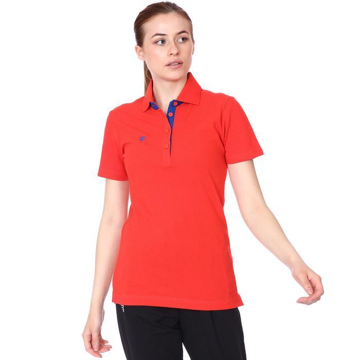 Kamp Kadın Kirmizi Basketbol Polo Tişört Tke1018-Krm 1149147