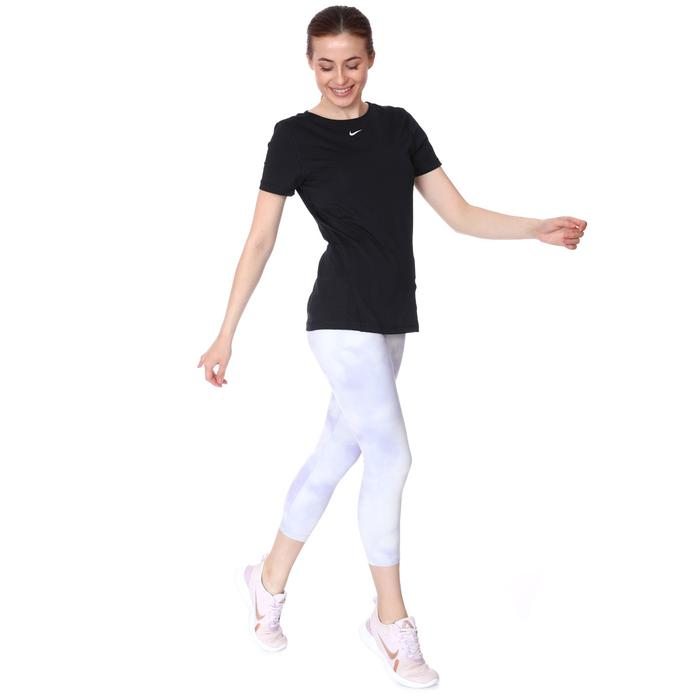 365 Top Essential Kadın Siyah Antrenman Tişört AO9951-010 1112587