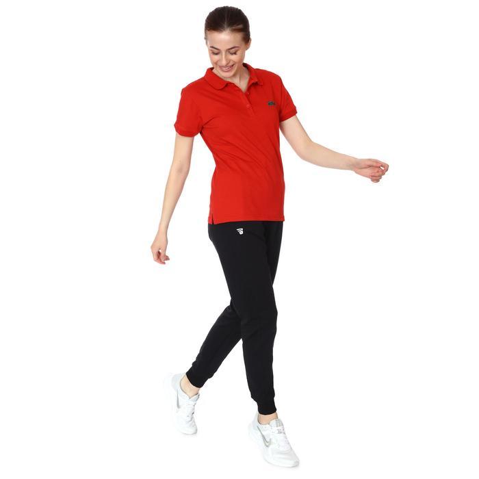 Karşıyaka Kadın Kırmızı Basketbol Polo Tişört TKY100137-KRM 1236366