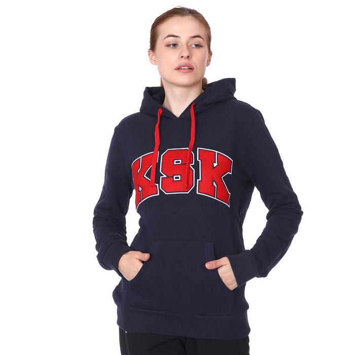Karşıyaka Kadın Lacivert Basketbol Sweatshirt TKY100145-LCV 1236440