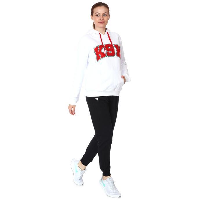 Karşıyaka Kadın Beyaz Basketbol Sweatshirt TKY100145-BYZ 1236950