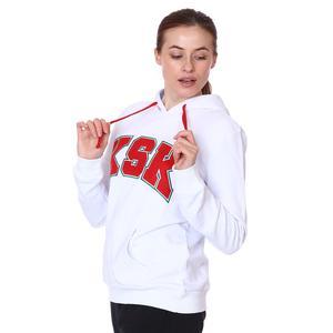 Karşıyaka Kadın Beyaz Basketbol Sweatshirt TKY100145-BYZ
