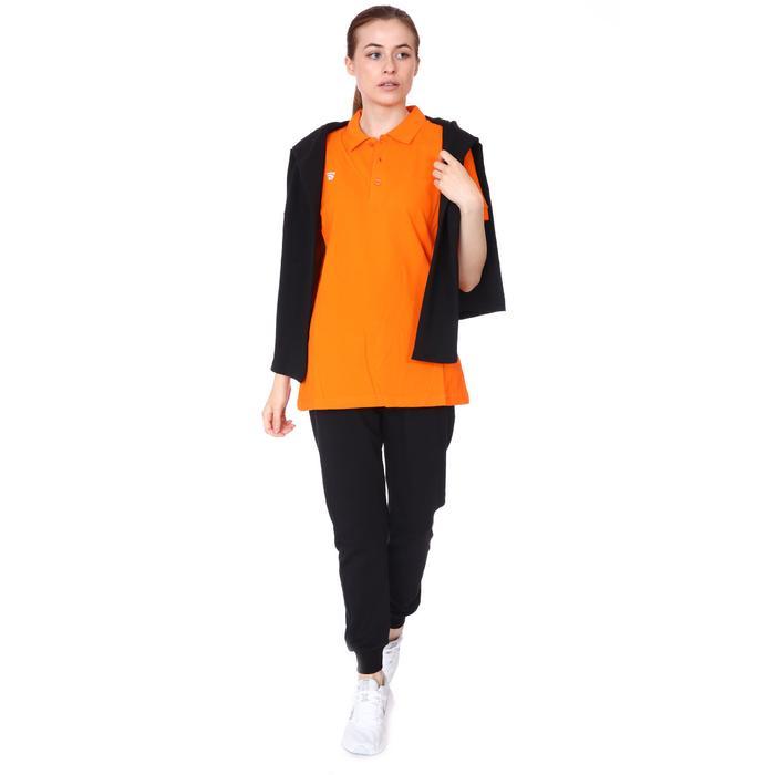 Spt Kadın Turuncu Voleybol Polo Tişört TKC100110-TRN 1227806
