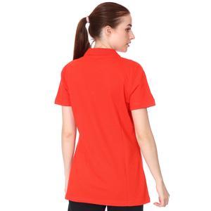 Spt Kadın Kırmızı Polo Yaka Günlük Stil Tişört TKY100120-KRM