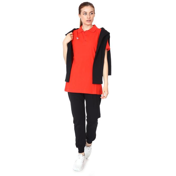 Spt Kadın Kırmızı Polo Yaka Günlük Stil Tişört TKY100120-KRM 1235409