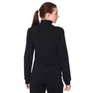 Raswomust Kadın Siyah Günlük Stil Sweatshirt 711209-SYH