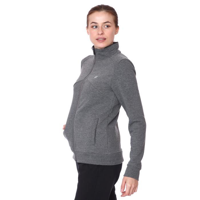 Raswomust Kadın Antrasit Günlük Stil Sweatshirt 711209-ANT 1158461