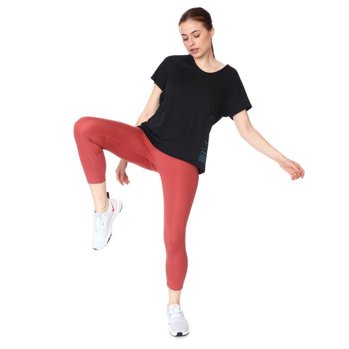 W Nk Df Fast Crop Kadın Kırmızı Koşu Tayt CZ9238-691 1285442
