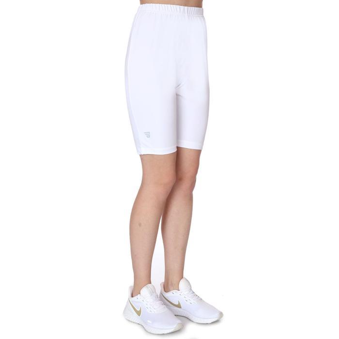 SPT Kadın Beyaz Günlük Stil Biker Tayt TKY100147-BYZ 1236505