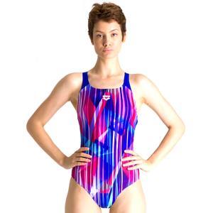 Shading Prism Swim Pro Back One Piece Kadın Mavi Yüzücü Mayo 002836770