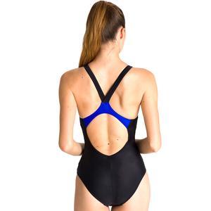 Reflected Simmetry V Back One Piece Kadın Siyah Yüzücü Mayo 002843580