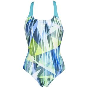 Shading Prism Swim Pro Back One Piece Kadın Yeşil Yüzücü Mayo 002836870