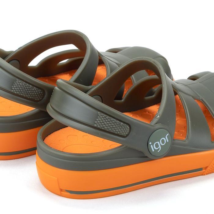 Ola Combi Çocuk Yeşil Günlük Stil Sandalet S10284-042 1282205