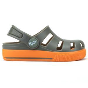 Ola Combi Çocuk Yeşil Günlük Stil Sandalet S10284-042