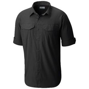 Silver Ridge Lite Long Sleeve Shirt Erkek Siyah Outdoor Gömlek AM1568-010
