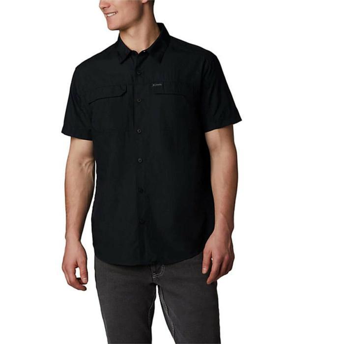 Silver Ridge 2.0 Short Sleeve Shirt Erkek Siyah Outdoor Gömlek AO0647-010 1282822