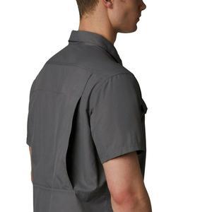 Silver Ridge 2.0 Short Sleeve Shirt Erkek Gri Outdoor Gömlek AO0647-023