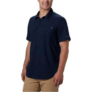 Silver Ridge Lite Short Sleeve Shirt Erkek Mavi Outdoor Gömlek AM1567-464