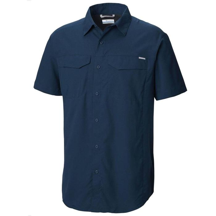 Silver Ridge Lite Short Sleeve Shirt Erkek Mavi Outdoor Gömlek AM1567-464 1282903