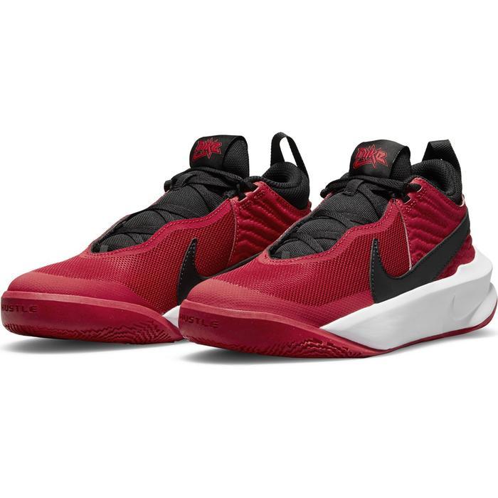 Team Hustle D 10 (Gs) Unisex Kırmızı Basketbol Ayakkabısı CW6735-600 1285666