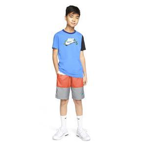 B Nsw Short Woven Block Çocuk Beyaz Günlük Stil Şort CW1021-102