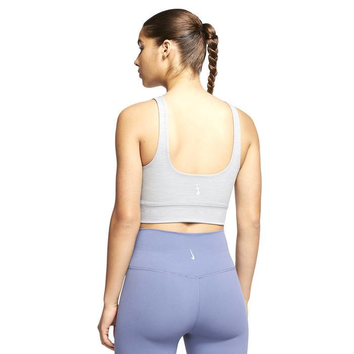 The Yoga Luxe Crop Tank Kadın Gri Antrenman Atlet CV0576-073 1283152