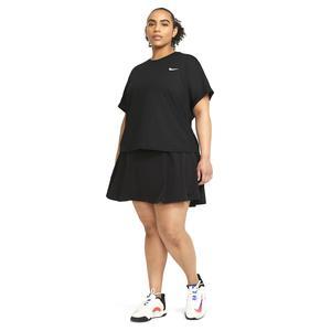 W Nk Df Clb Skrt Reg Tns Kadın Siyah Tenis Etek DB5935-010