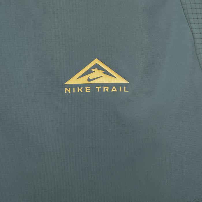M Nk Df Trail Rise 365 Ss Erkek Yeşil Koşu Tişört CZ9050-387 1286184