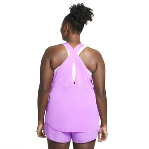 W Nk Breathe Tank Cool Plus Kadın Mor Koşu Atlet DJ2576-597