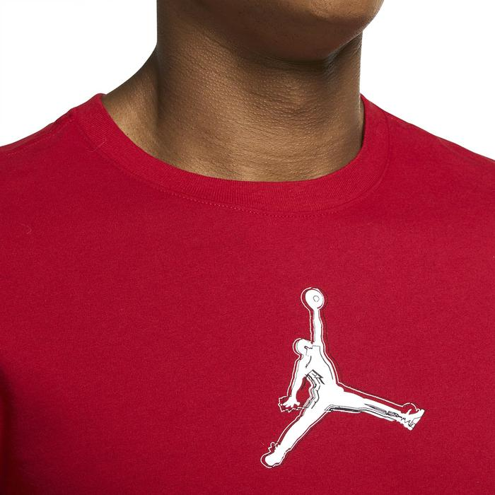M Jordan Dfct Air Perf Gfx Crew NBA Erkek Kırmızı Basketbol Tişört CZ8087-687 1286145