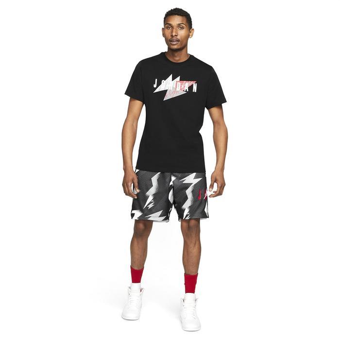 M Jordan Jumpman Air Wm Ss Crew NBA Erkek Siyah Basketbol Tişört CZ8303-010 1286153