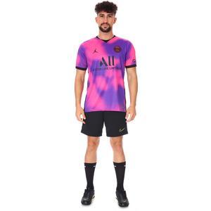 Air Jordan PSG Stad Jsy Ss 4Th Erkek Kırmızı Futbol Tişört CV8414-640