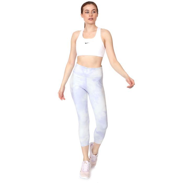 W Nk Df Swsh 1Pp Bra Kadın Beyaz Antrenman Sporcu Sütyeni BV3636-100 1283484
