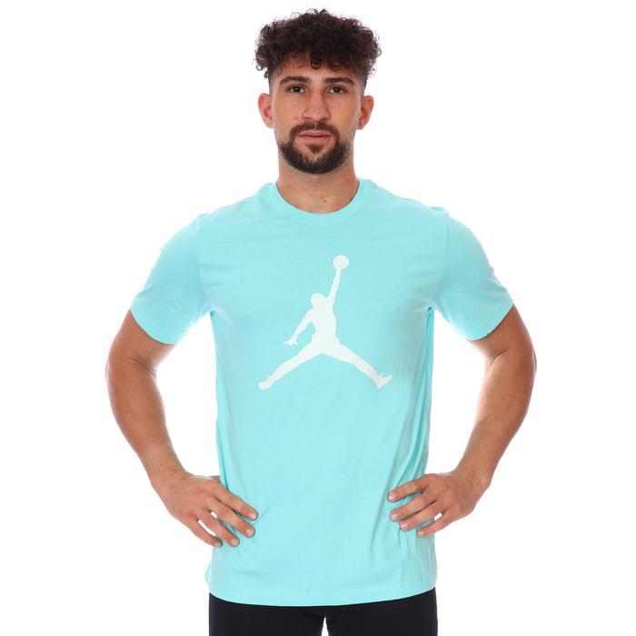 M Jordan Jumpman Ss Crew NBA Erkek Yeşil Basketbol Tişört CJ0921-307 1285953