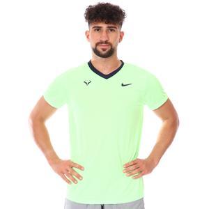 Rafa Mnk Dfadv Ss Top Erkek Yeşil Tenis Tişört CV2802-345