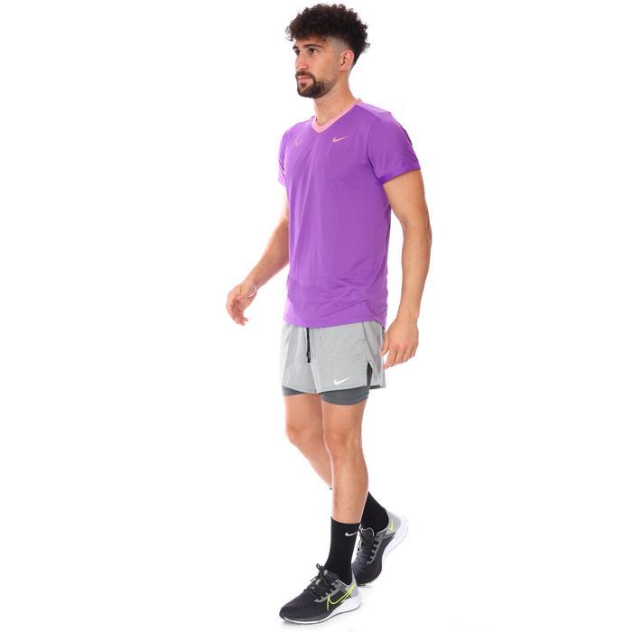 Rafa Mnk Dfadv Ss Top Erkek Mor Tenis Tişört CV2802-528 1285993