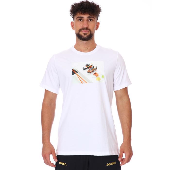 M Nsw Tee Food Shoeshi Erkek Beyaz Günlük Stil Tişört DD1326-100 1286600