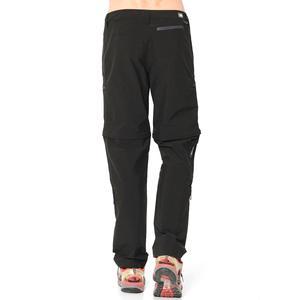 M Exploration Convertible Pant Erkek Siyah Outdoor Pantolon NF00CL9QJK31