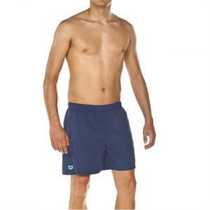 Fundamentals Logo Boxer Erkek Lacivert Yüzücü Mayo 1B34478