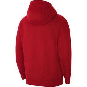 M Nk Flc Park20 Fz Hoodie Erkek Kırmızı Futbol Sweatshirt CW6887-657