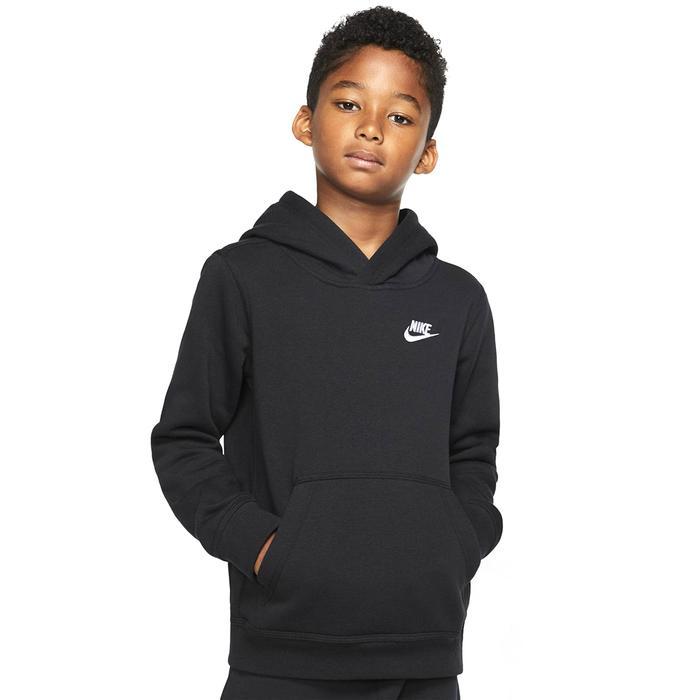 B Nsw Club Po Hoodie Çocuk Siyah Günlük Stil Sweatshirt BV3757-011 1274235