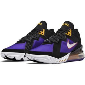 Lebron XVIII Low NBA Unisex Siyah Basketbol Ayakkabısı CV7562-003