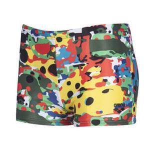 B Camouflage Jr Short Çocuk Çok Renkli Yüzücü Mayosu 002952500